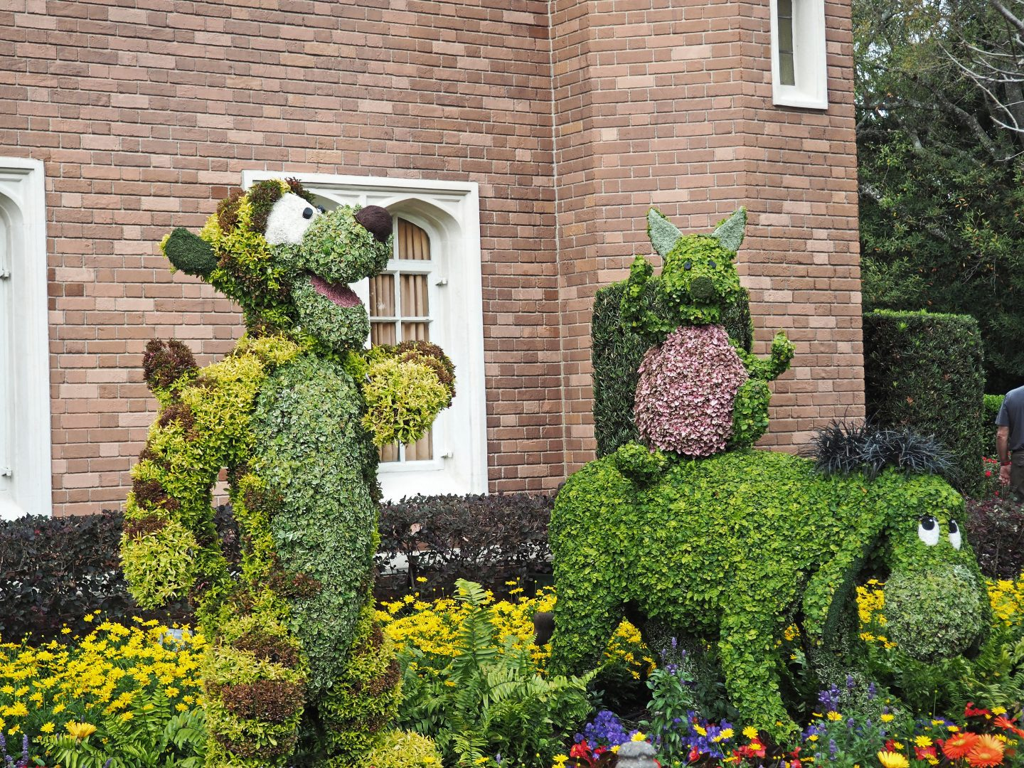 flower and garden festival topiaries 2020