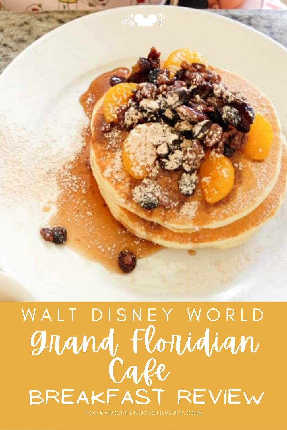 Disney's Grand Floridian Cafe offers an extensive breakfast and brunch menu! Check out everything we got and what we'd recommend! #polkadotpixies #grandfloridian #disneybreakfast