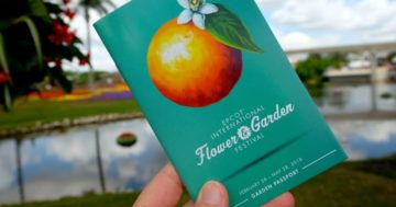 Epcot Flower and Garden Festival Favorite Foods 2018