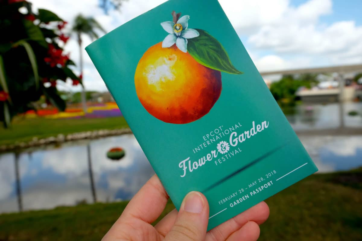 Epcot Flower and Garden Festival Favorite Foods