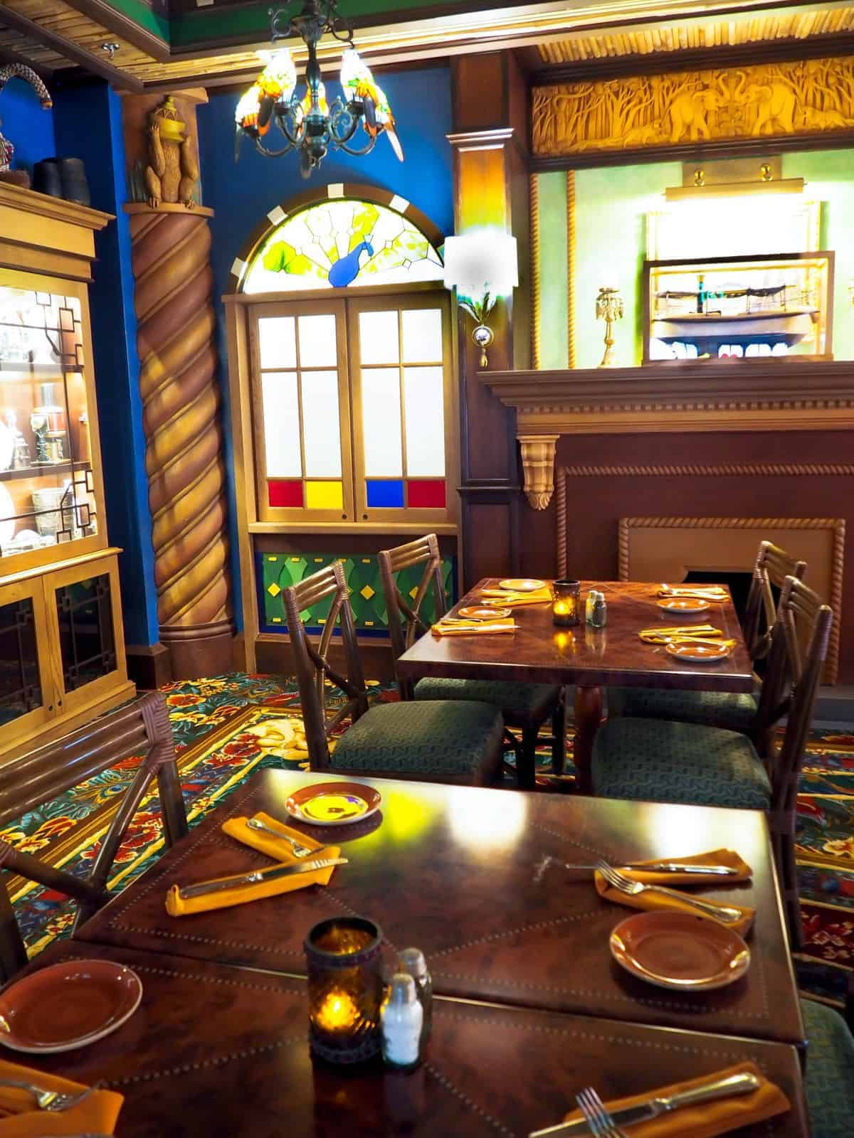 skipper canteen dinner at magic kingdom