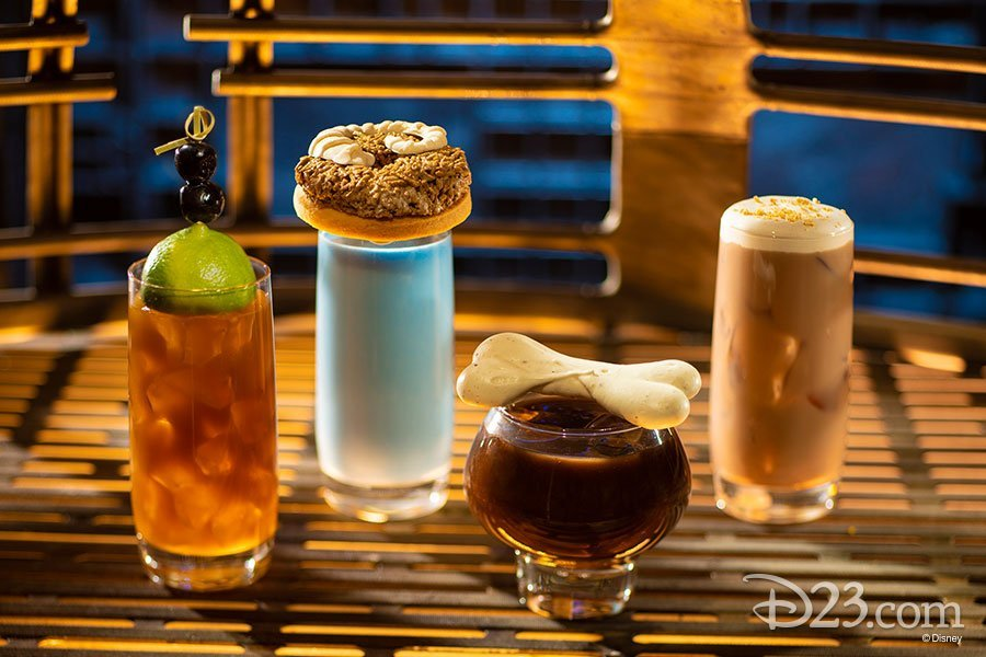 d23 Star WArs Galaxy's Edge Drinks
