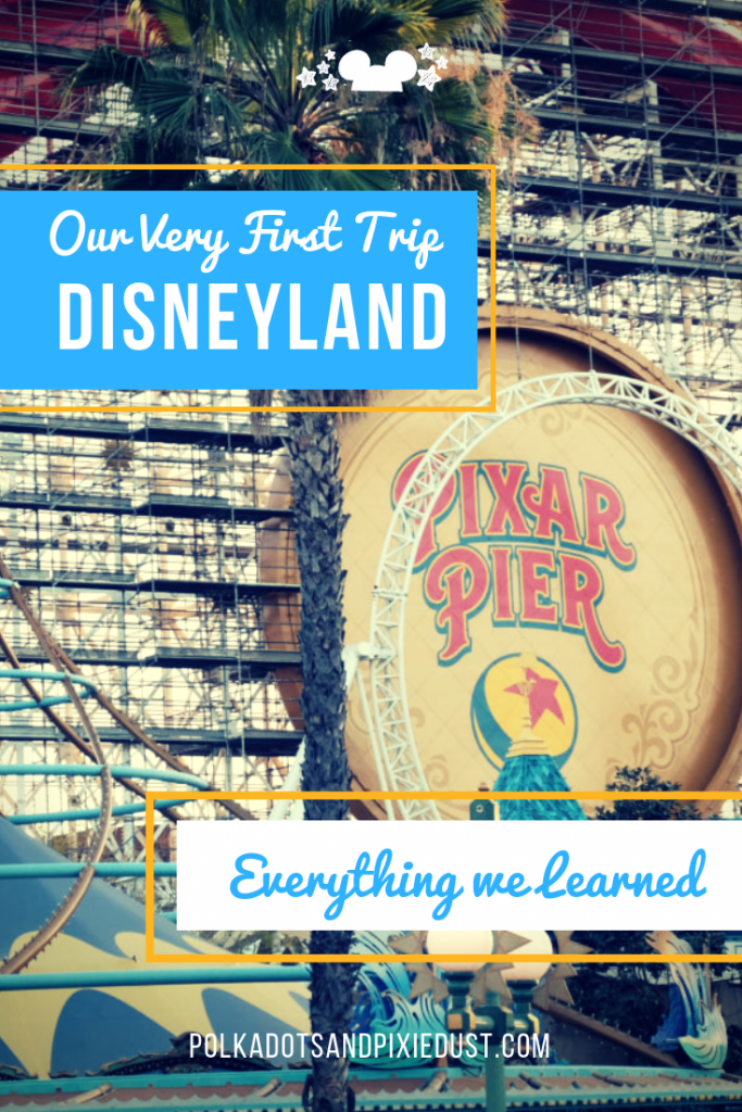 Disneyland in Anaheim California is a great park with enough to do for a few days and a perfect add to a larger California Vacation. Check out all the things we added to our first Disneyland Trip! #polkadotpixies #disneylandtrip