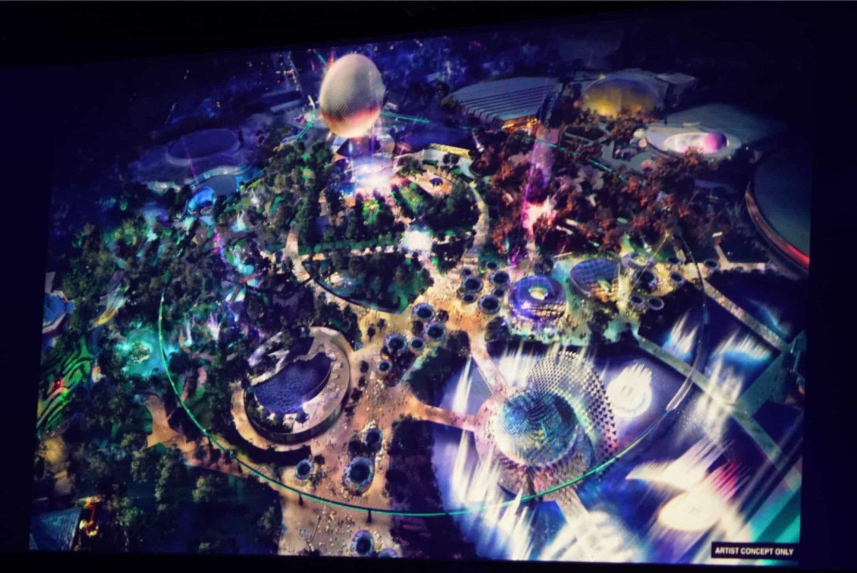 epcot refurbishment 2019 epcot 2020 epcot 2021 A full artists greenery concept of Epcot Walt Disney World refurbishment doe 2021 #disneyconstruction #disneychanges #disneyworldanniversary