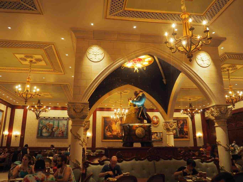 polkadotsandpixiedust.com Be Our Guest Restaurant Revew Magic Kingdom