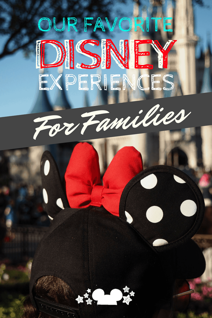 our favorite disney family experiences at walt disney world #disneyplanning #disneytrips #disneyfamily #disneyspecialexperiences