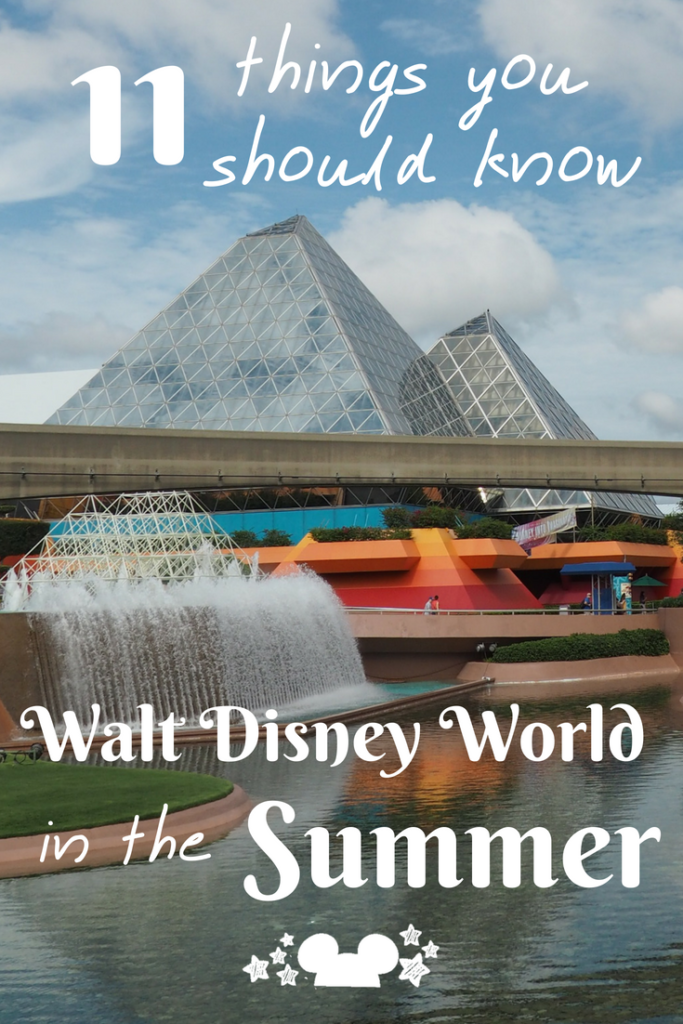 Visting Walt Disney World in the Summer has its pros and cons. Here are the 11 things they don't tell you abotu vacationing at Walt Disney World in th esummer months #disneysummervacation #disneysummertrip #disneyvacation