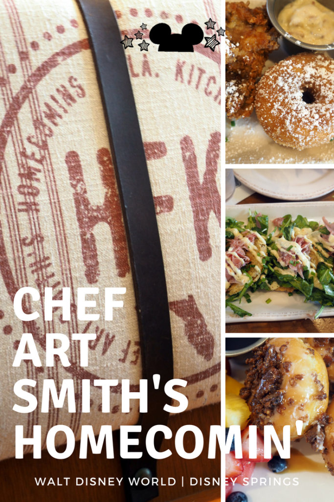 Farm to Table Restaurant Chef Art Smith's Homecomin' in Disney Springs Walt Disney World brings southern brunch and fare to this quaint restaurant with amazing food! See our review of the rise and shine sunday brunch #sundaybrunch #chefartsmith #homecomin'restaurant #disneysprings