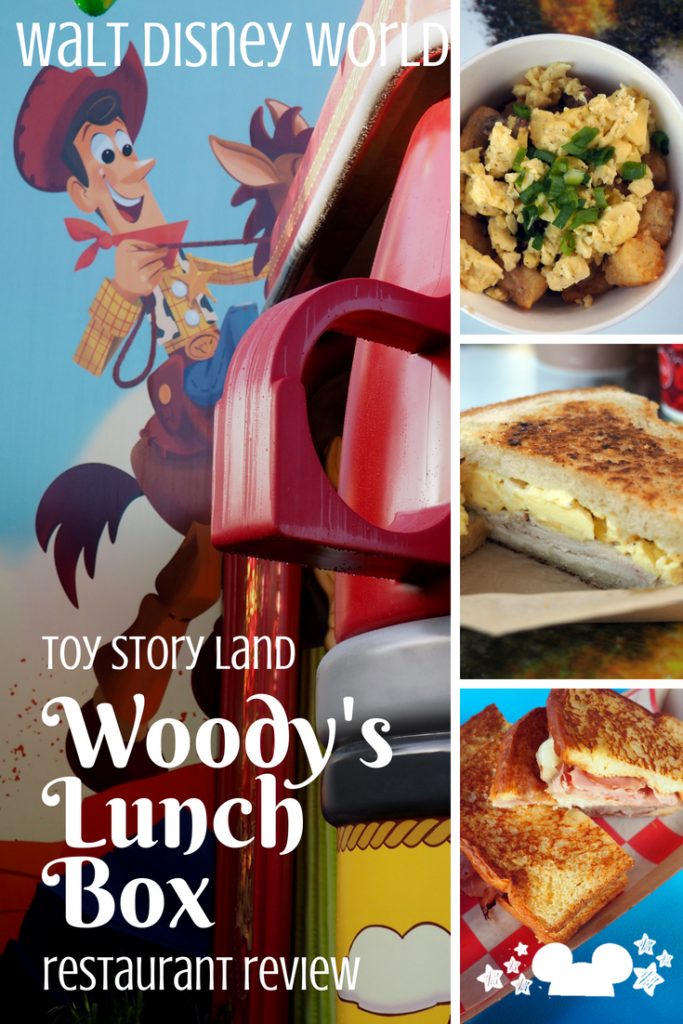 woodys lunch box review at toy story land hollywood studios walt disney world. #toystoryland #woodyslunchbox #waltdisneyworld