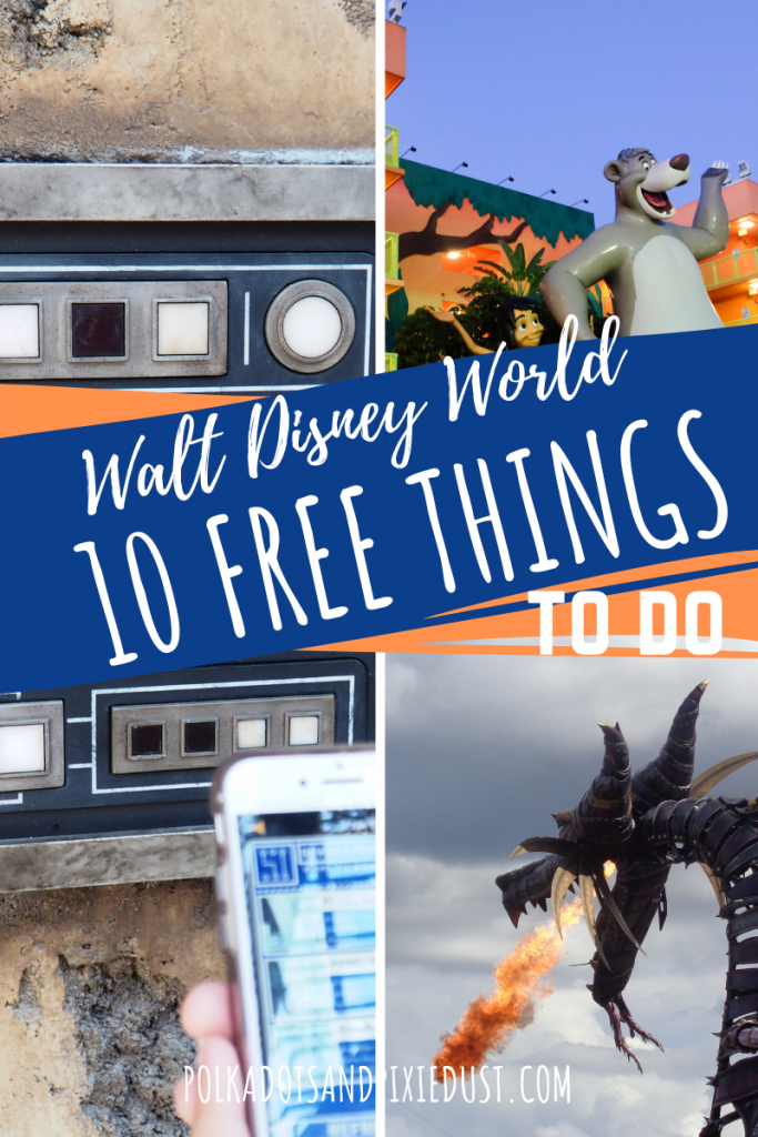 10 FREE Things to do at Walt Disney World. From resort hopping to games to tours. Everything you can do for Free at Disney World. #disneyforfree #disneyonabudget #disneytips