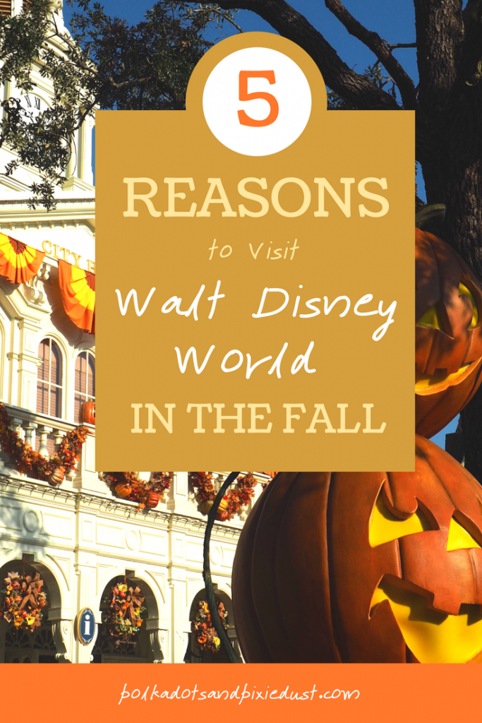 5 Reasons you should visit Walt Disney World in the Fall. #disneyinthefall #disneyonabudget #disneytips #waltdisneyworld #falltravel