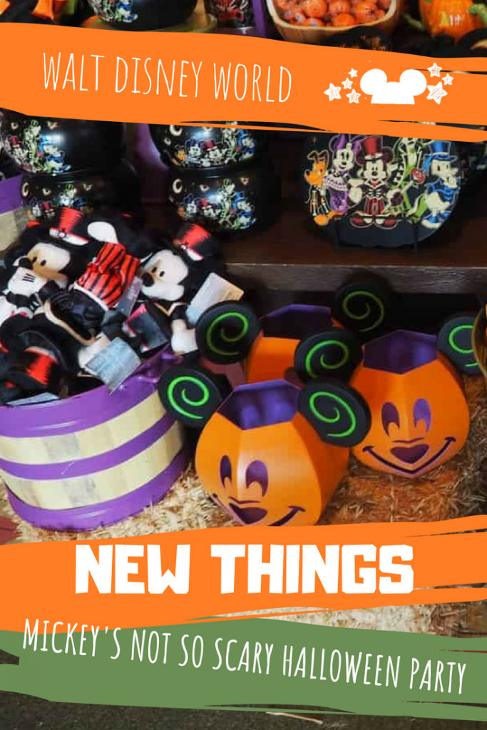 All the New Things to Expect at Mickey's Not So Scary Halloween Party. New Ride Overlays, New Treats, New Merchandise!