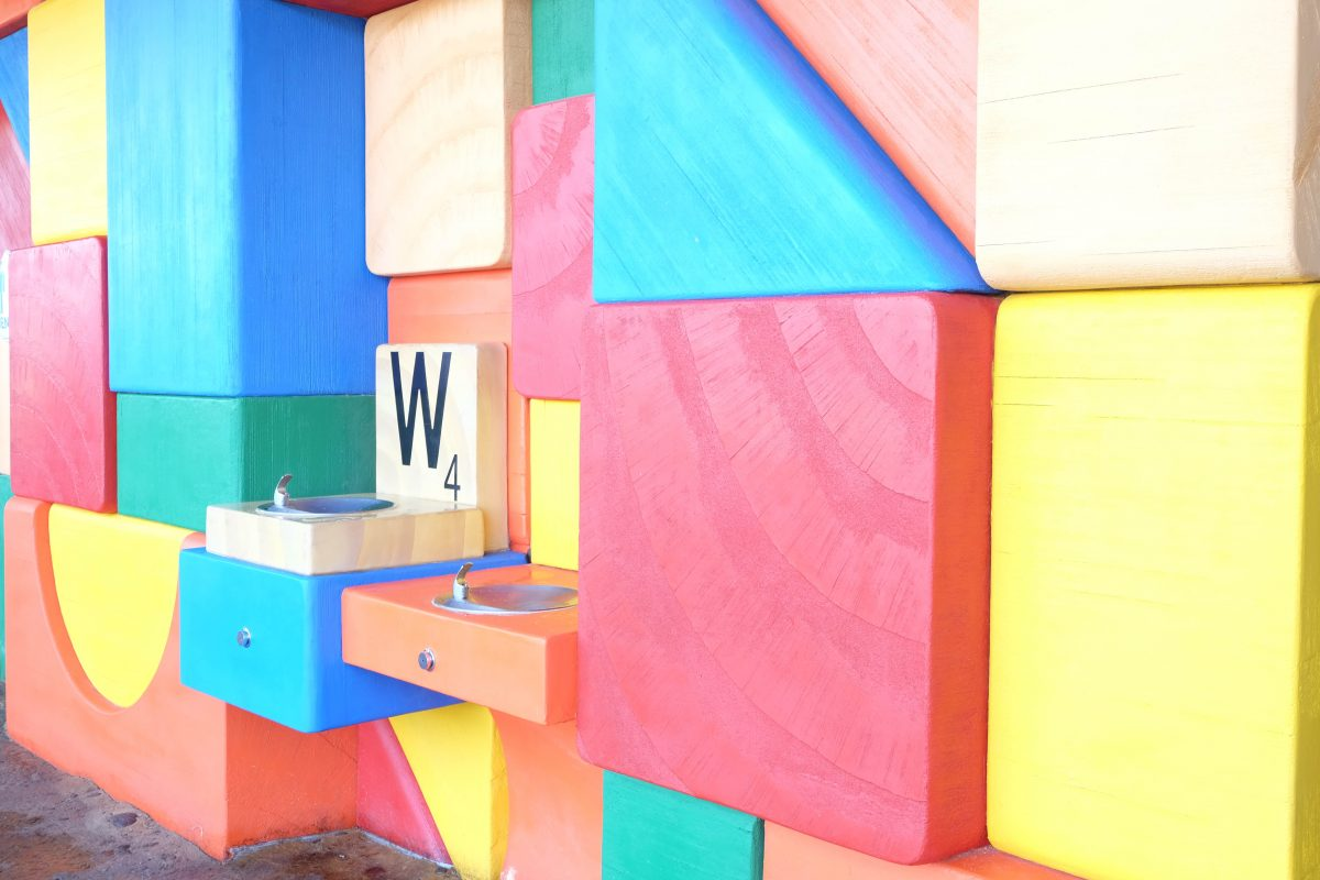 Toy Story Land Block Wall, Walls and Disney and where to find them, Disney Instagram walls, Disney Instagram