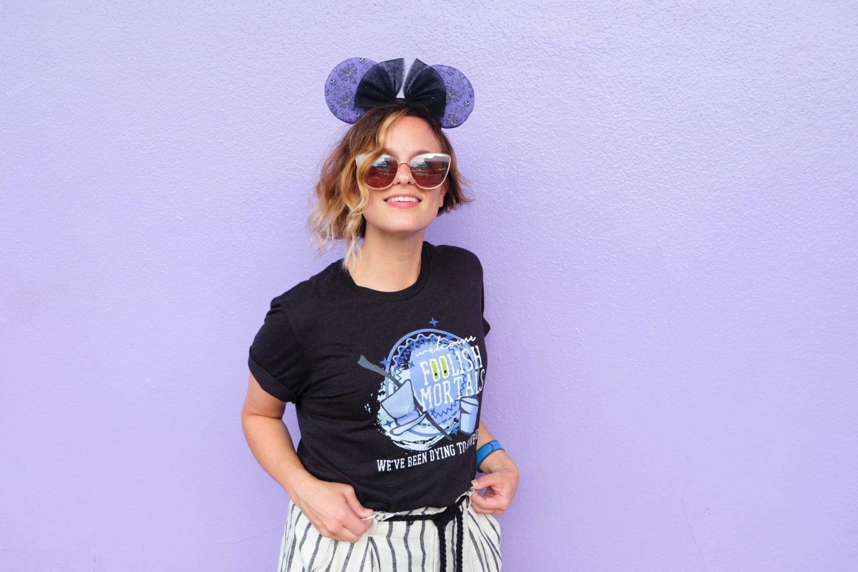 Disney walls Instagram walls purple wall purple galactic wall in tomorrowland walt disney world photo opportunities
