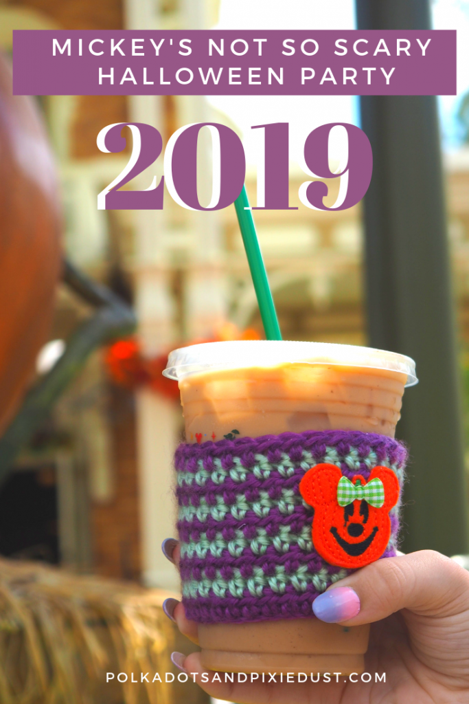 Mickey's Not So Scary Halloween Party at Walt Disney World is an up-charged event that may actually be WORTH IT!!! With a new fireworks show, treats and more! See all the things coming to Disney for MNSSHP this year! #polkadotpixies #disneyworld @disneyhalloween #disney2019