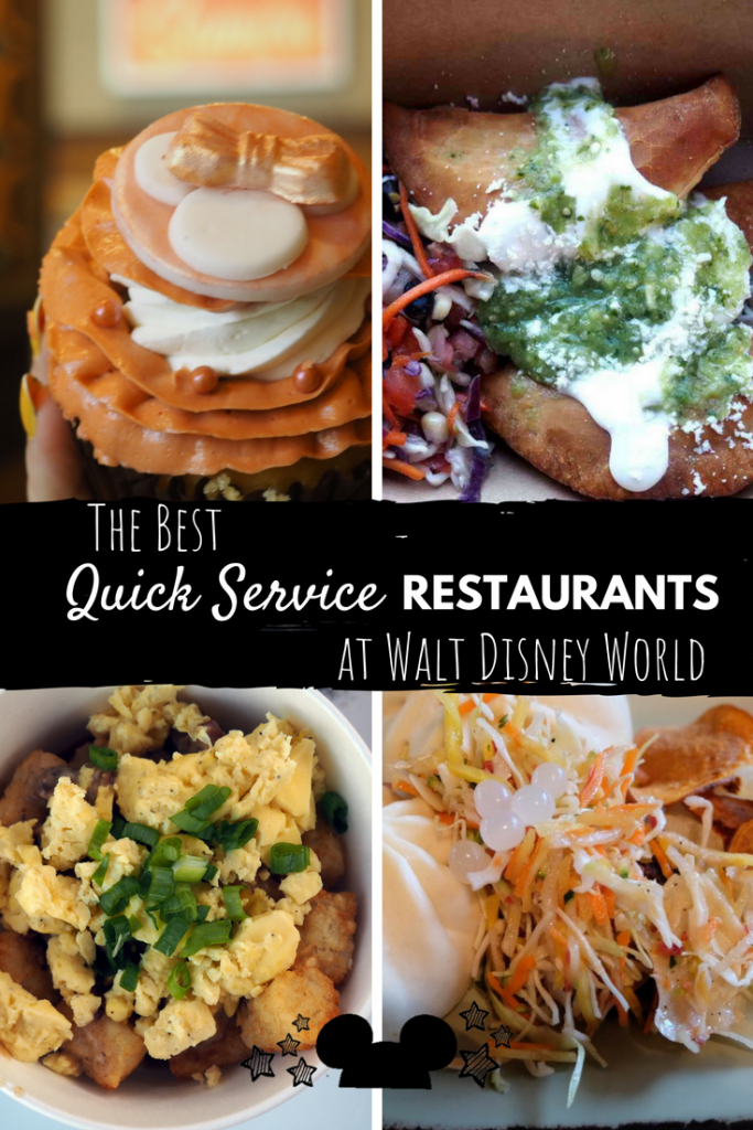 Here's a list of our Favorite Quick Service Restaurants at Walt Disney World. #disneyquickserve #disneyrestaurants #disneytips #disneyfoodie #disneydining