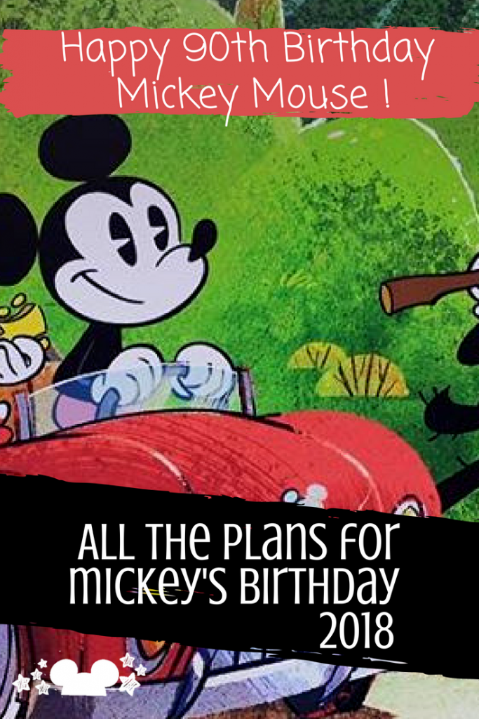 mickey mouse birthday at walt disney world. 2018, 90th birthday plans #mickeysbirthday #mickeys90th #waltdisneyworld