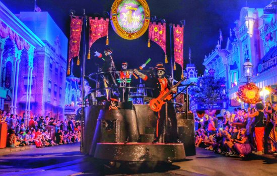 Mickey's Not So Scary Halloween Party Boo To You Parade Photo Tour