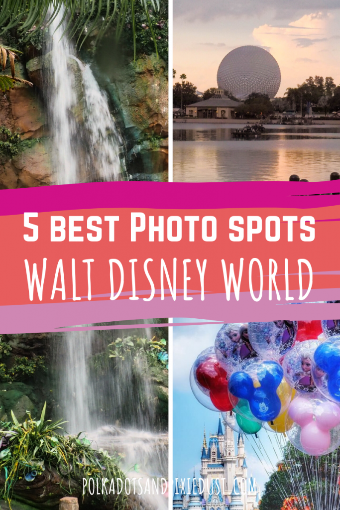 Heading to Walt Disney World and need just a few AMAZING Photos? Well, look no further. We slimmed it down to the TOP 5 photos you can grab when you're at Walt Disney World. #disneyvacation #disneyphotography #disneytips #disneyinstagram