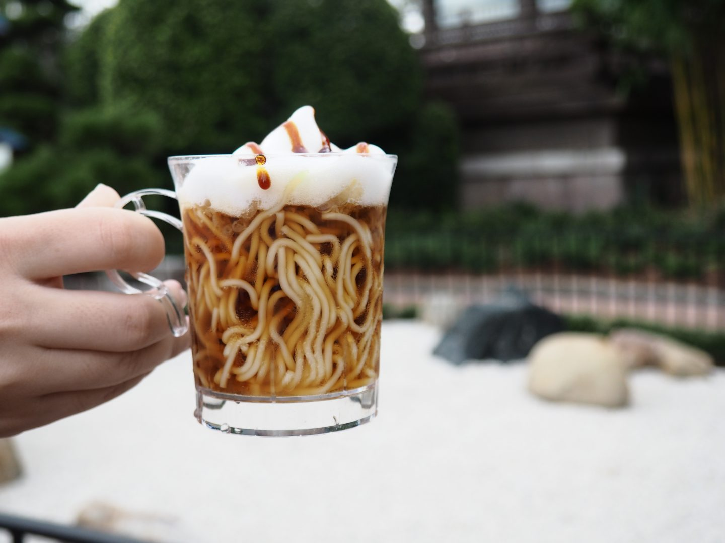 frothy ramen at japan epcot food and wine festival