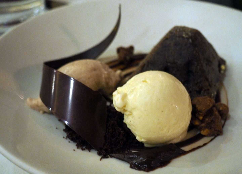 Warm Valrhona Chocolate Cake california grill disney