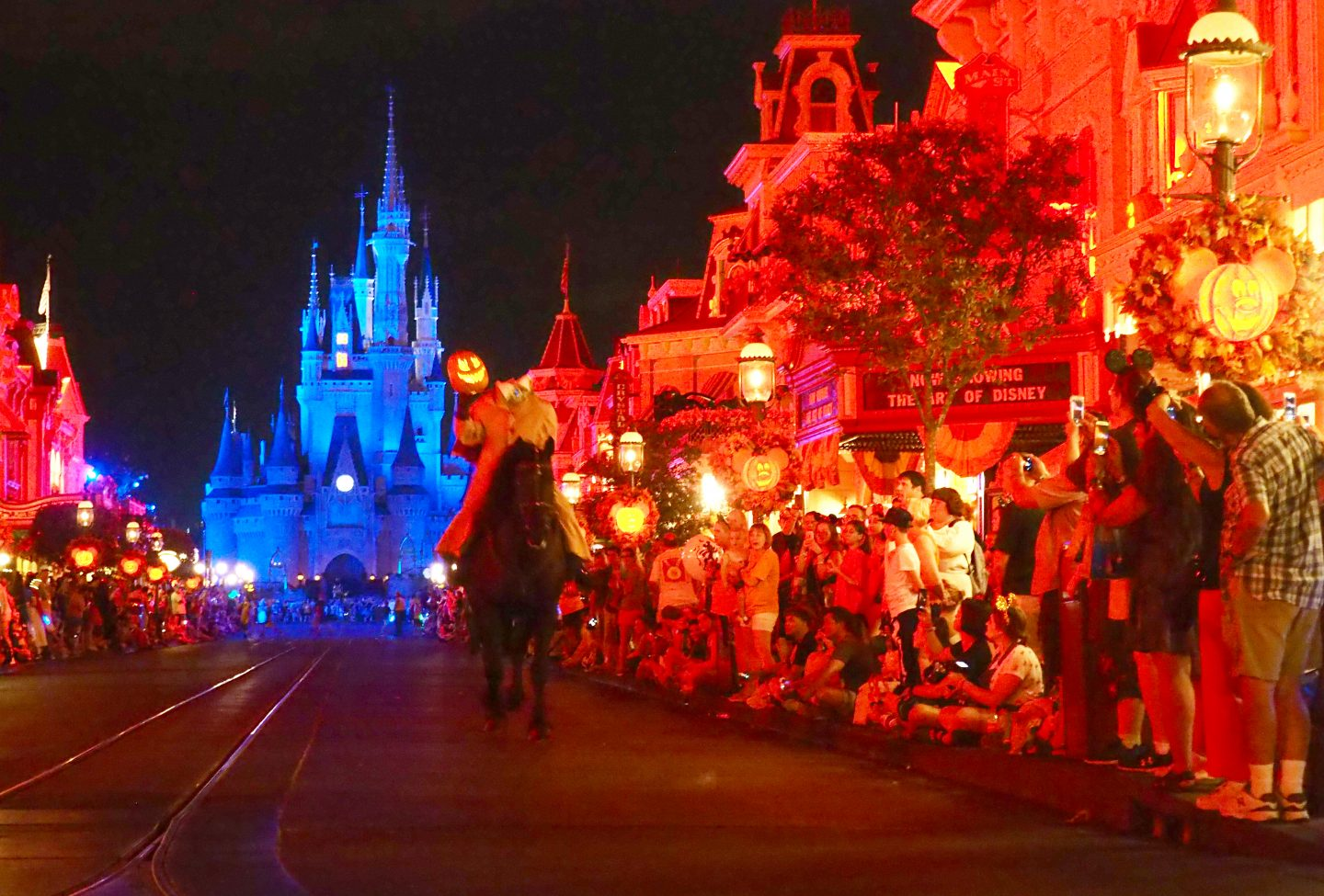boo to you parade headless horseman rides at walt disney world