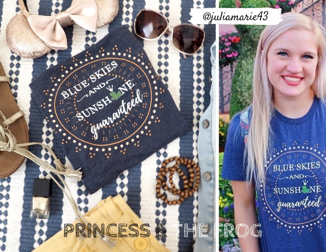 princess and the frog shirts blue skies polkadotpixieshop polka dot pixie shop #polkadotpixieshop #polkadotpixies