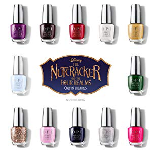 nutcracker and the four realms nailpolish collection