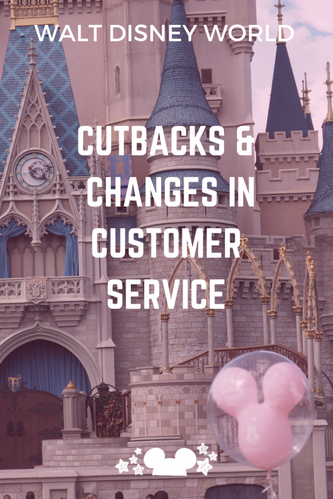 Cutbacks at Walt disney world and Changes to Customer Service at Disney #changesatdisney #disneycustomerservice #disneyloyaltyappreciation #disneycutbacks #disneyreturnvisit #polkadotpixies
