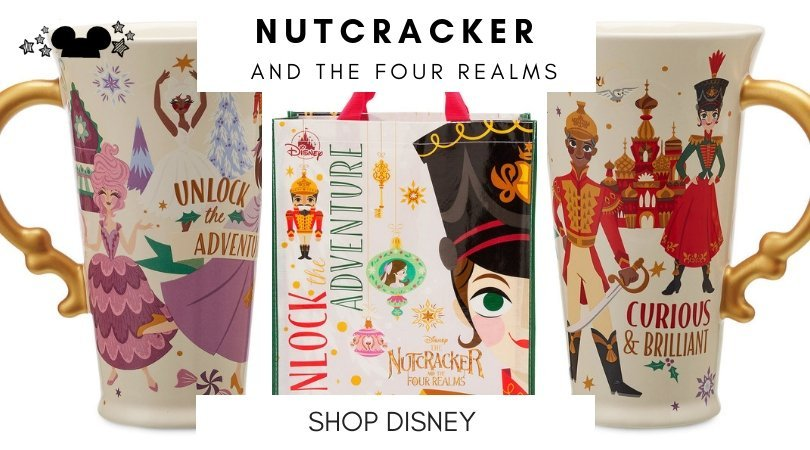 nutcracker and the four realms collection at shop disney