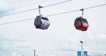 Disney Skyliner Gondola at Walt Disney World