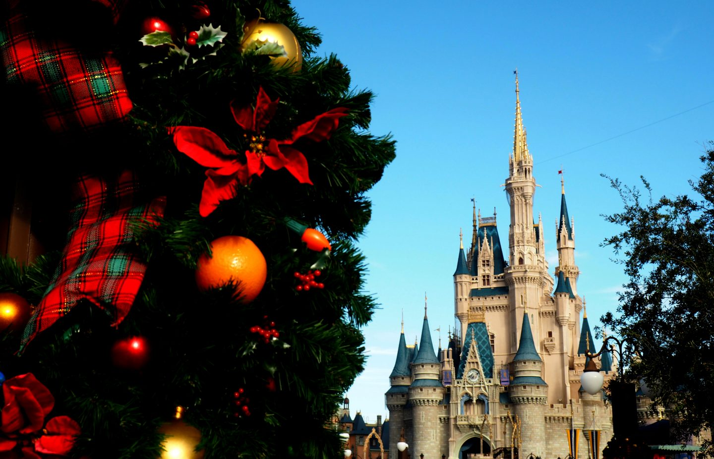disney at christmas time