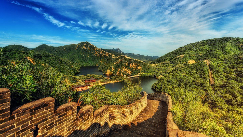 great wall of china disney epcot china pavilion