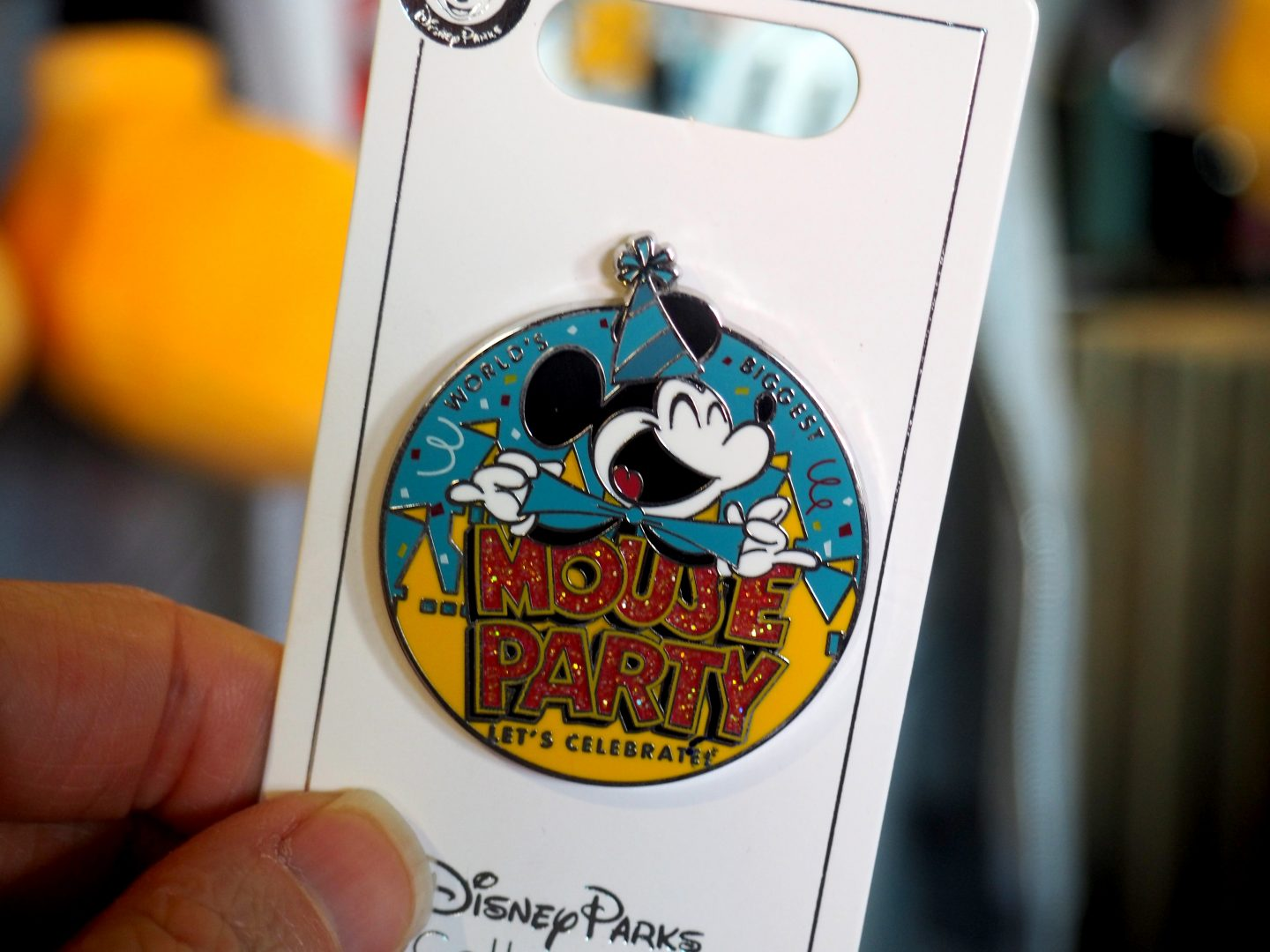Mickey Mouse Birthday Party Pins