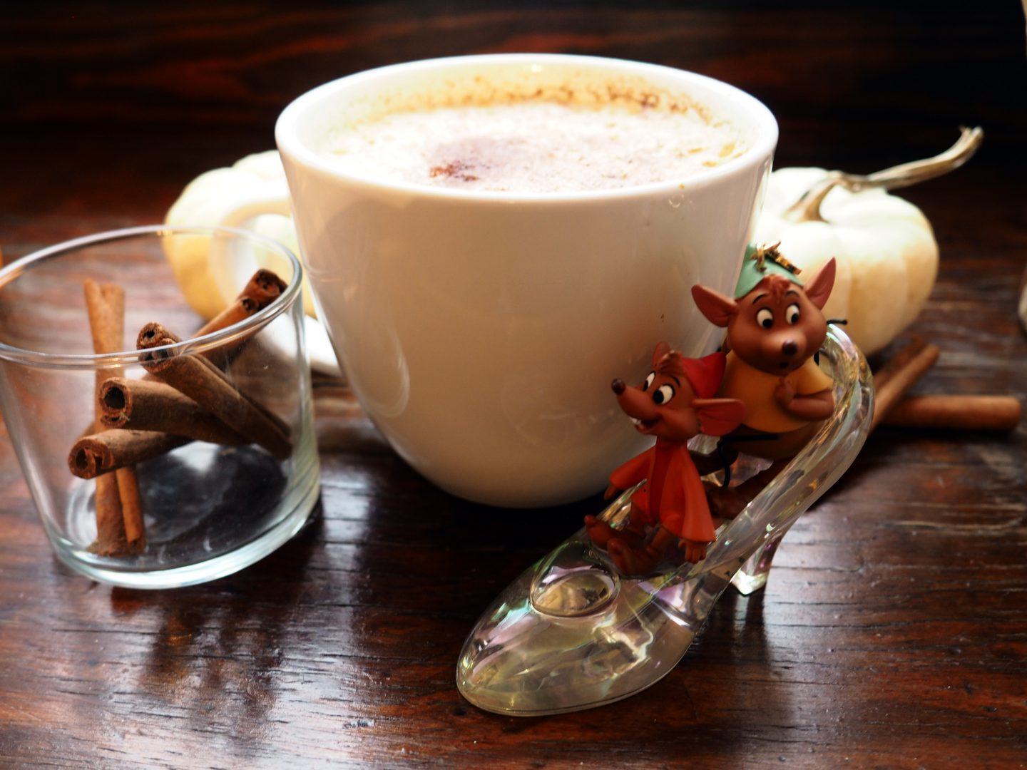 Cinderella Inspired Pumpkin Chai Latte Recipe