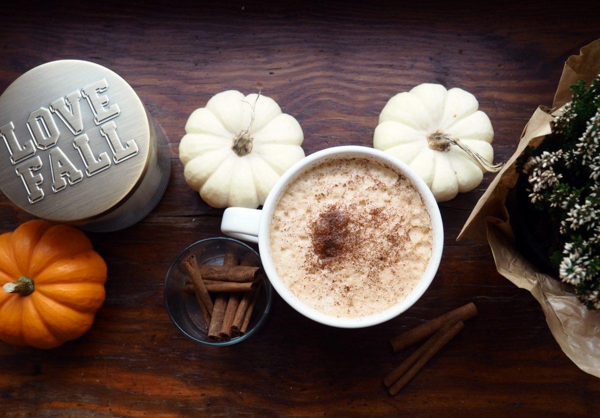 Cinderella Pumpkin Chai Tea Latte