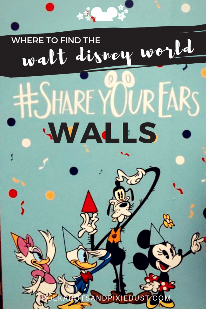 Disney has a #shareyourears campaign that helps benefit Make A Wish! See all the walls we found to help promote this worthy organization! Just #shareyourears everywhere until November 27th and Disney will donate more to Make A Wish Foundation. #shareyourears #makeawish #waltdisneyworld