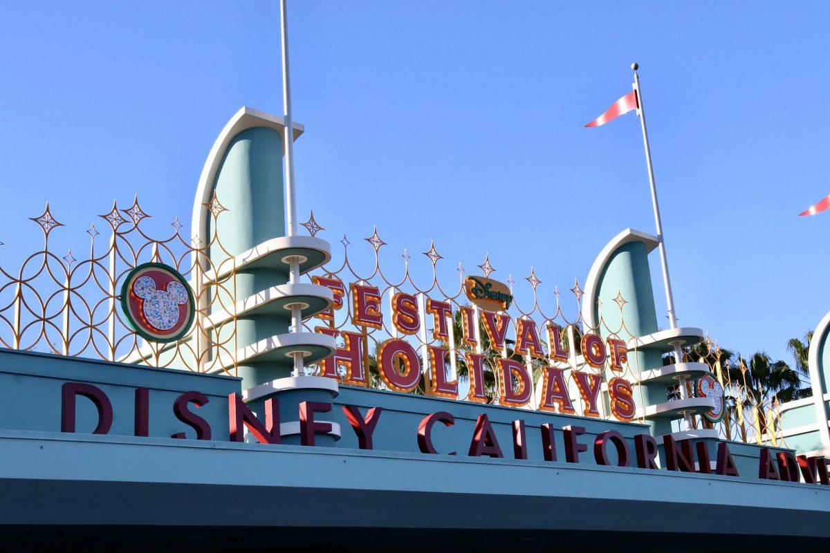 Disneyland Christmas, Disneyland holidays, christmas at Disneyland, cars land christmas, disneyland holiday rides, holiday ride overlays disneyland, california adventure, disneyland holiday offerings