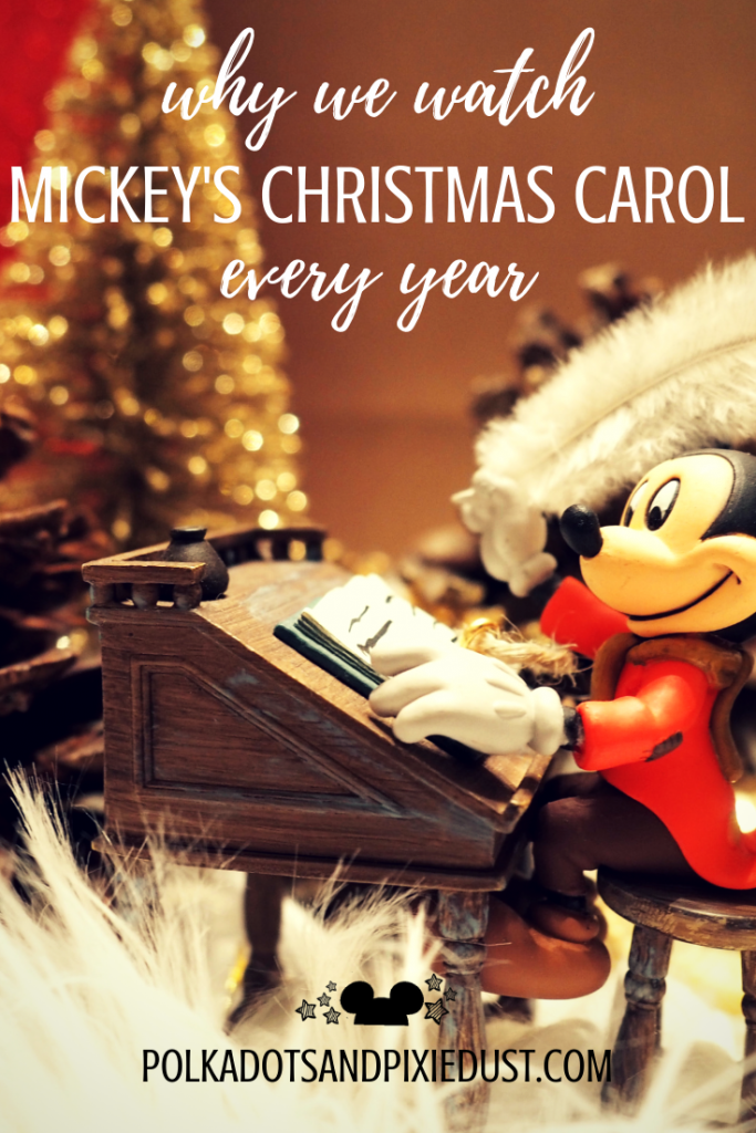 Mickey's Christmas Carol on Christmas Eve and all season. See the lessons, the history, and why this movie holds a special place in our hearts. #polkadotpixies #christmasmovies #disneymovies