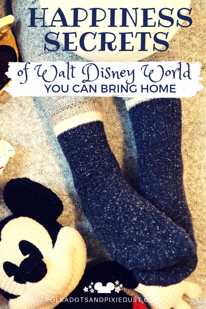 Disney Happiness Secrets To Try at Home! All the ways Walt disney world uses science to trick your body and mind into utter joy! Try these simple body and mind hacks to get happy! #polkadotpixies #disneysecrets
