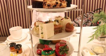 Holiday Tea at the Disneyland Hotel