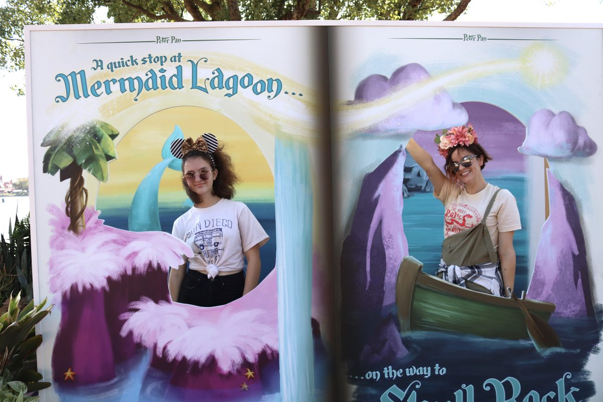 Disney Photo Spots at Festival of the Arts