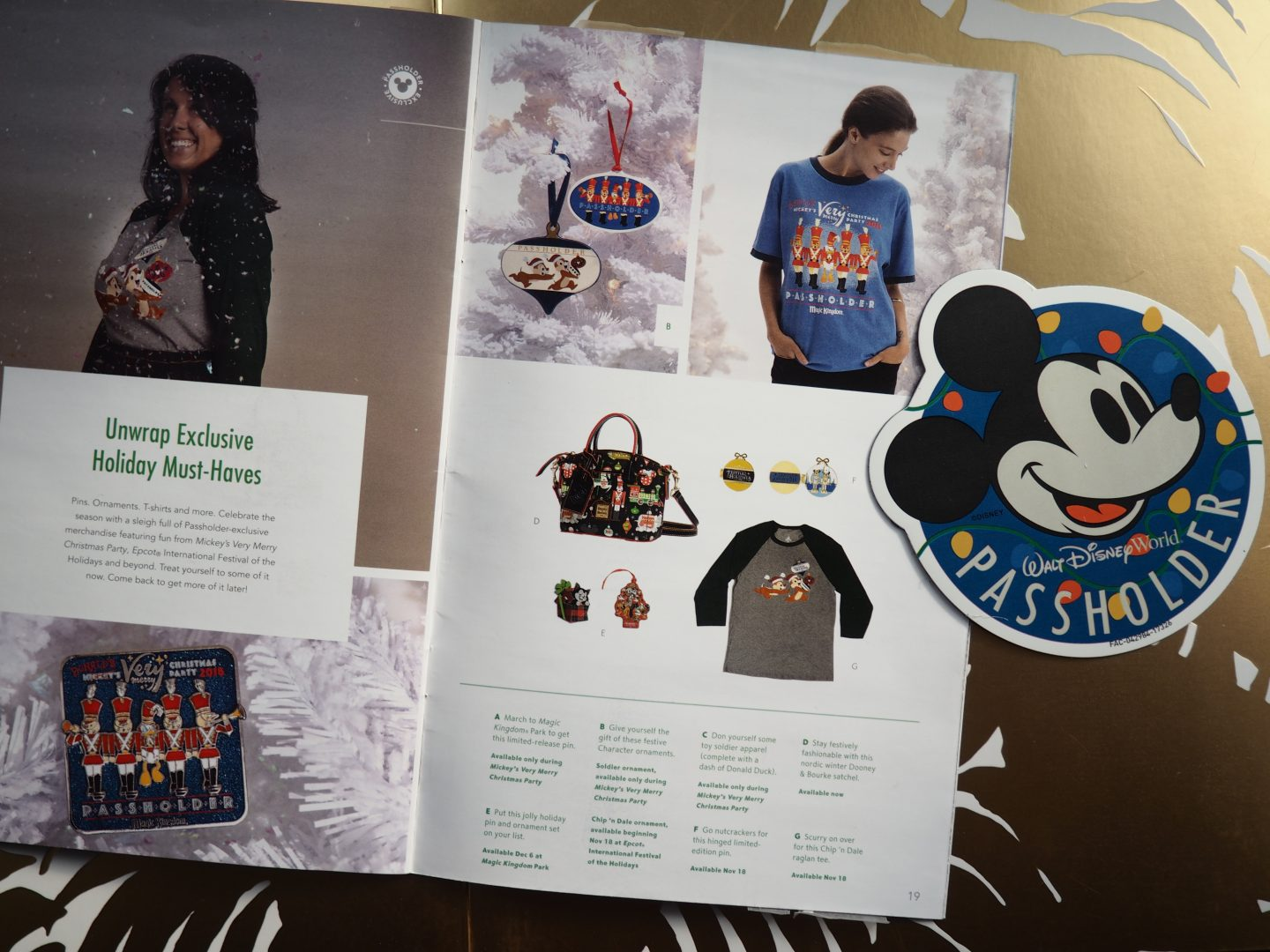 Disney Annual Passholder Special Merchandise