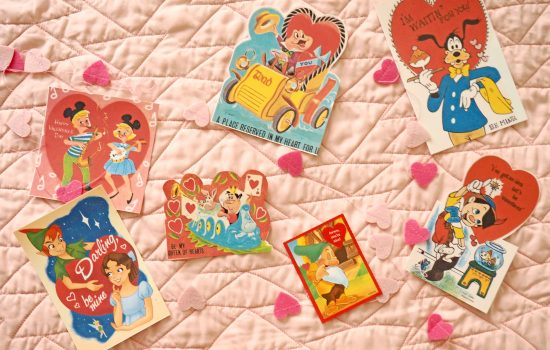 Vintage Disney Valentines of Days Past