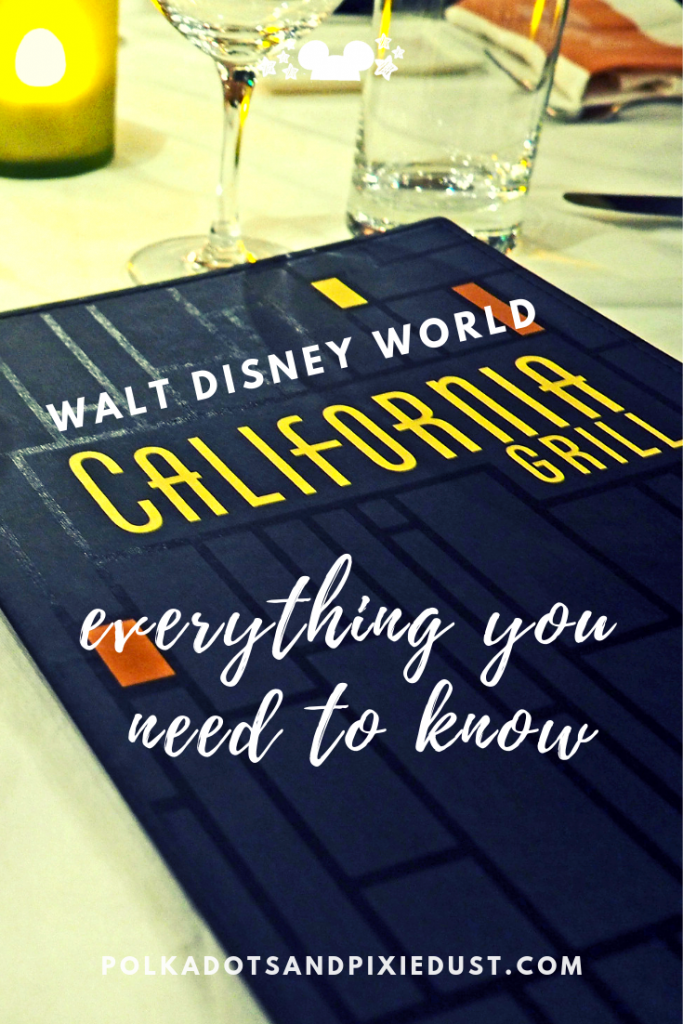 walt disney world california grill. Everything you need to know about dining credits, kids and if it's worth the cost! #polkadotpixies #californiagrill #waltdisneyworld