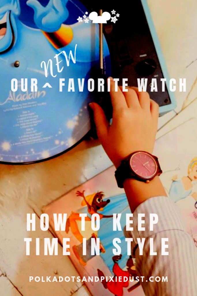 Need to keep time for your next Disney Fastpass? Grab this Jord wooden watch. Eco friendly, sensible and stylish. You can be sure to be on time for everything on your next Disney Vacation. #jordwatches #disneystyle #style #polkadotpixies