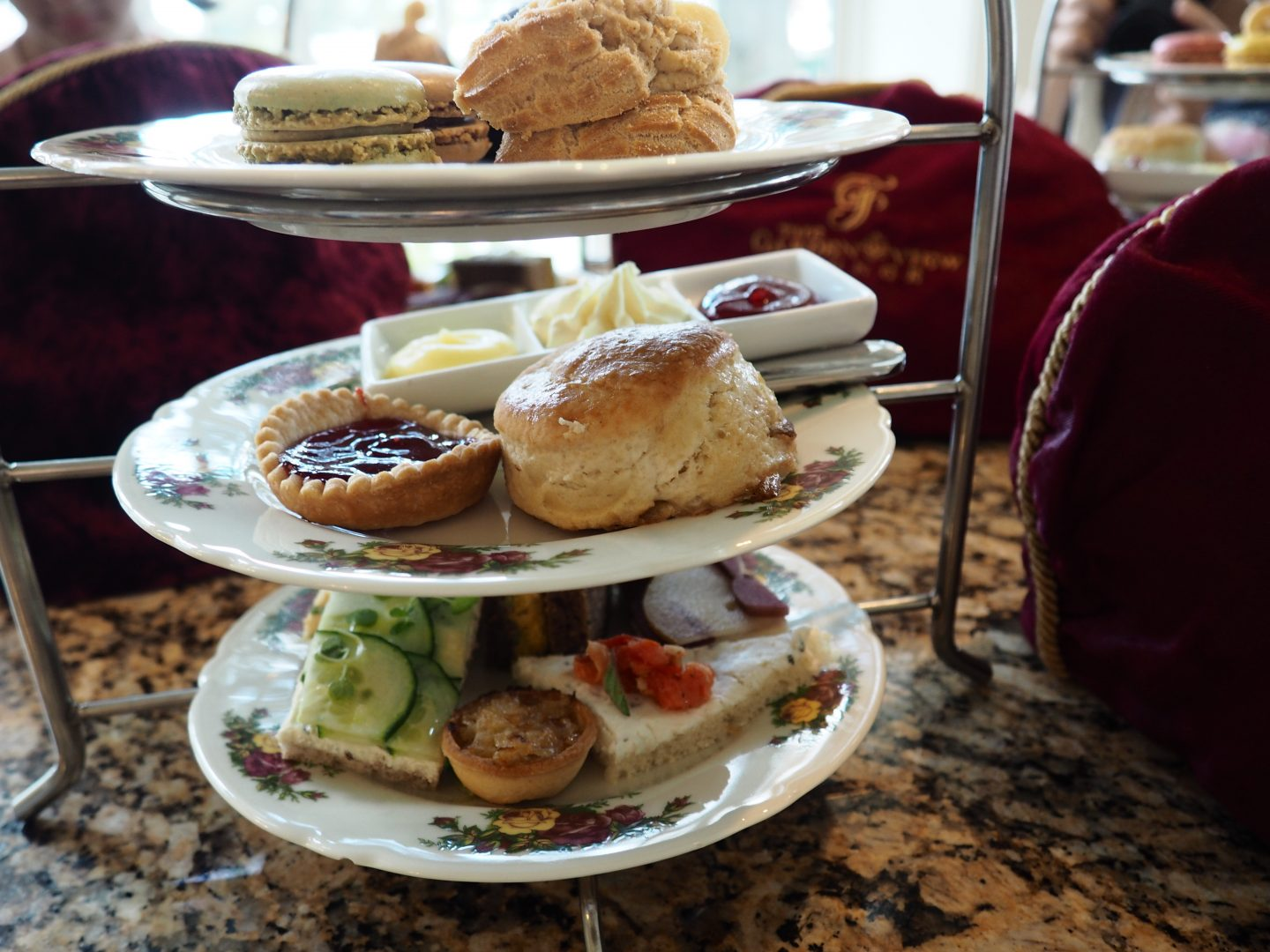 Tea at Garden View Tea Room Disney's Grand Floridian