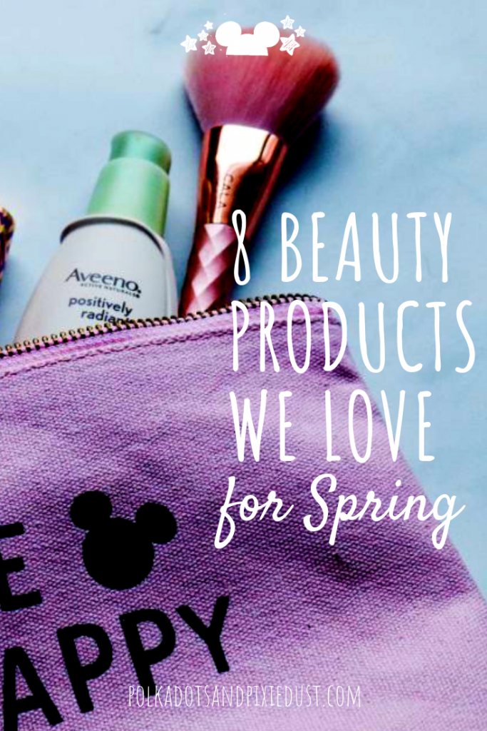 Here are our favorite Lazy Girl beauty products to get you through Springtime looking cute and confident without too much work! Perfect for your next vacation, these travel friendly beauty products do the job without overloading your baggage! #beautyproducts #travelproducts #beautytips #polkadotpixies