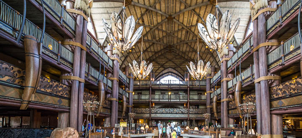 A Disney Resort Day at Animal Kingdom Lodge