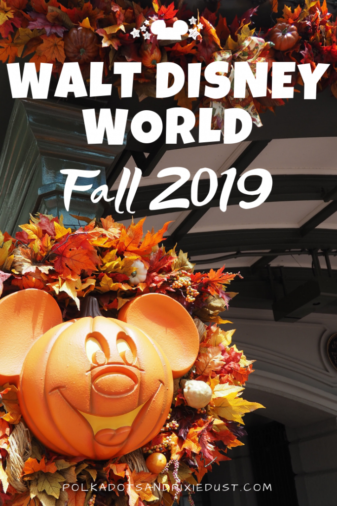 Everything coming to Walt Disney World in Fall 2019. From new lands, to new services, restaurants and more! #polkadotpixies #disneytips #EEMH #MNSSHP #tasteepcot